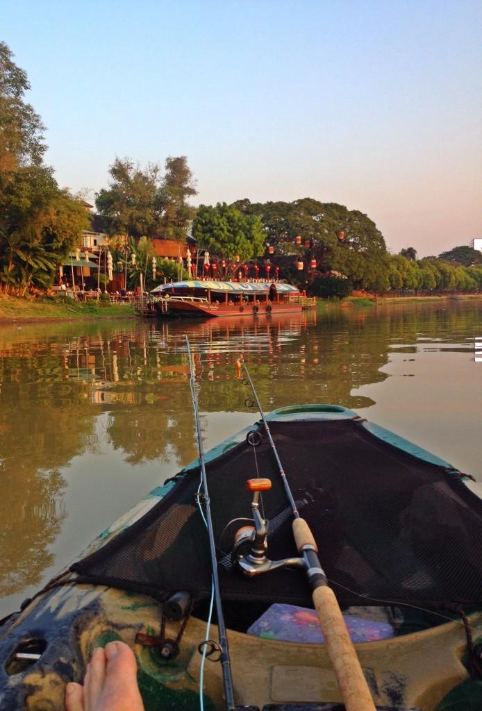 Fluestang og spinnestang Chiang Mai