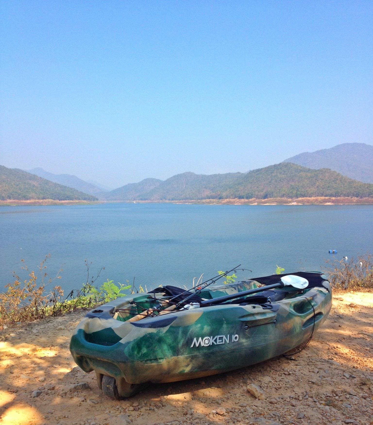 En tur på Mae Kuang Dam