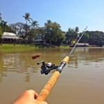 kajakfiskeri på Ping River