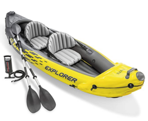 Intex Explorer K2 Kayak - oppustelig kajak fra Amazon